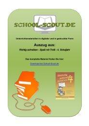 Richtig schreiben - Spaß mit Trolli - 4. Schuljahr - School-Scout