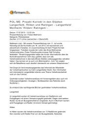 Monheim/ Hilden/ Ratingen - Firmendb
