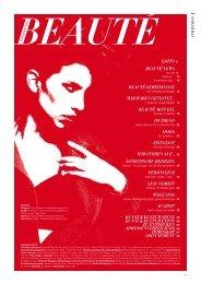 Dezember 2012 als PDF herunterzuladen - Beauté information