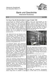 Folge 2005/2 - Historische Gesellschaft der Deutschen Bank e.V.