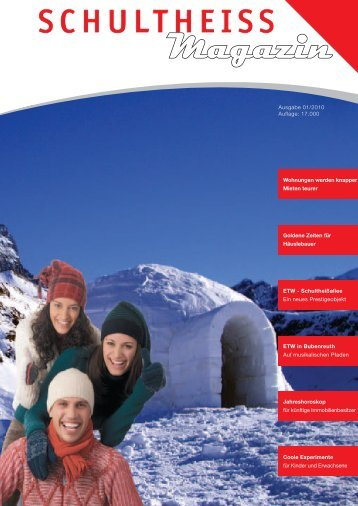 schultheiss wohnbau swb magazin 01 2010 ag erfahrungen