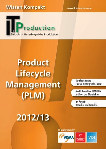 Product Lifecycle Management (PLM) 2012/13 - IT & Production