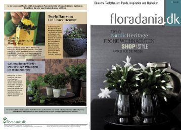 Floradania Magazin Nr. 52, 2008 Winter