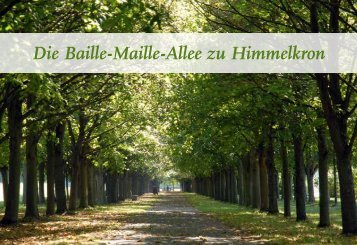 Neue Broschüre zur Baille Maille - Baille-Maille Himmelkron