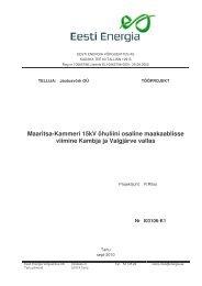 I03106-K1 Seletuskiri Spetsifikatsioon.pdf - Eesti Energia