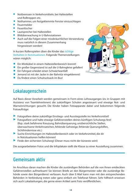 Neue Schulwege - 4. Schulstufe - Schule.at