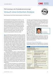 Veruche einer kritischen Analyse - Kantonsspital Aarau