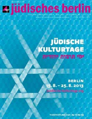 Jüdisches Berlin - Bernd Lutterbeck