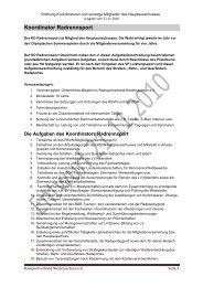 Aufgabenbeschreibungen Koordinatoren - Radsport-in ...