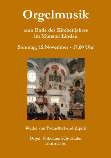 Programm - Muenster-Musik.de