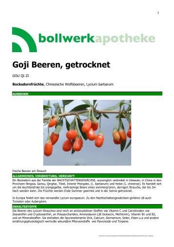 Goji Beeren.pdf - Bollwerkapotheke