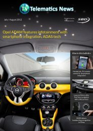 Opel ADAM features infotainment with  ... - Telematics News