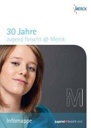 Infomappe - Merck Jugend forscht - Merck KGaA