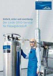 CRYO Service Broschüre - Linde Gas