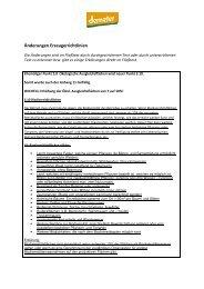 Änderungen Richtlinie Erzeuger 2012/2013 - Demeter