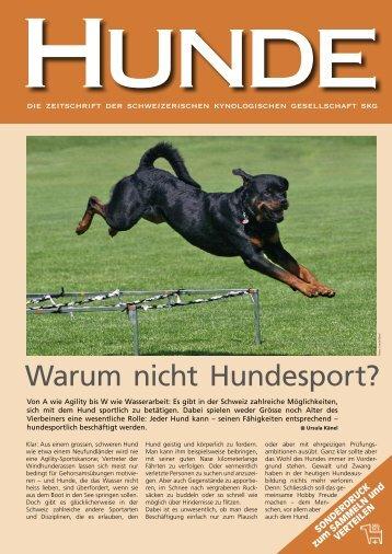Warum nicht Hundesport? - SKG