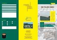 Flyer Biogasnlage - dm-folien gmbh