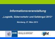 Vortrag VDO Counter Güterverkehr - IHK Nürnberg für Mittelfranken
