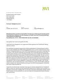 BVI-Position zum Entwurf der Zwölften Verordnung zur Änderung ...