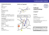 Freiberger Arbeitsrechtstage - Fakultät 6 - TU Bergakademie Freiberg