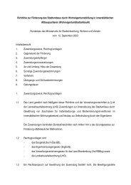 Richtlinie zur Förderung des Stadtumbaus durch ...