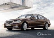 Preisliste Mercedes-Benz S-Klasse Limousine (W/V221) vom 08.11.2011.
