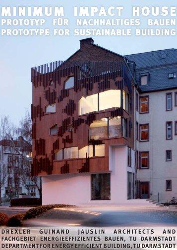 MINIMUM IMPACT HOUSE - Roofscapes