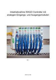 Inbetriebnahme des WAGO-I/O-Systems 750 (BFW Dortmund)