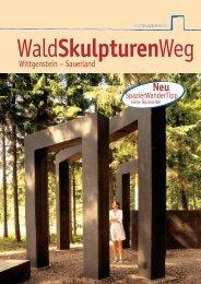 Broschüre zum WaldSkulpturenWeg