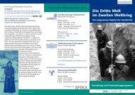Begleitprogramm - Erich Maria Remarque-Friedenszentrum