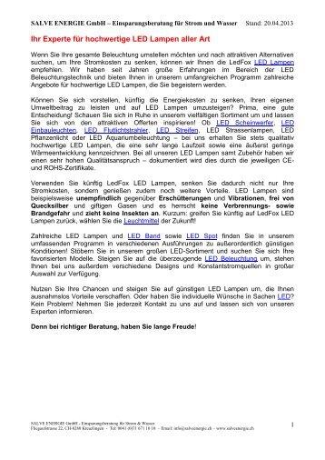 SALVE-in-TErrA - Haslauer GmbH