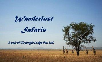 A unit of Gir Jungle Lodge Pvt. Ltd.