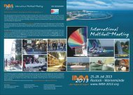 International Multihull-Meeting - IMM 2013 – ROSTOCK ...