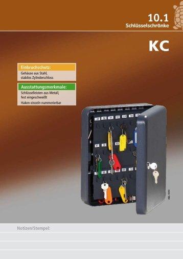 katalog schlüsselschränke komplett [pdf 1.9mb] - Schlüssel & Schloss