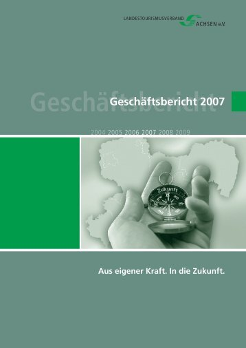 Geschäftsbericht - Landestourismusverband Sachsen eV