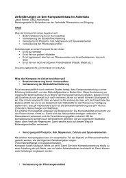 Anforderungen an den Komposteinsatz im Ackerbau - agrigate.ch