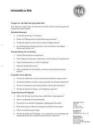 Checkliste zur Suche nach einer Kindertagesstätte - Verwaltung ...