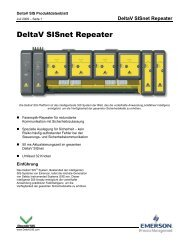 DeltaV SISnet Repeater - Emerson Process Management