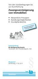 Zwangsversteigerung von Immobilien - bei Rechtsanwalt Wolfgang ...