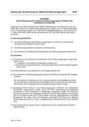 02/09 Satzung über die Benutzung der Städtischen ...