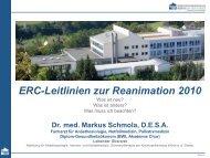 Anwendung - Dr. Markus Schmola