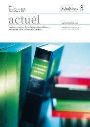 International Bookstore - Schulthess Juristische Medien