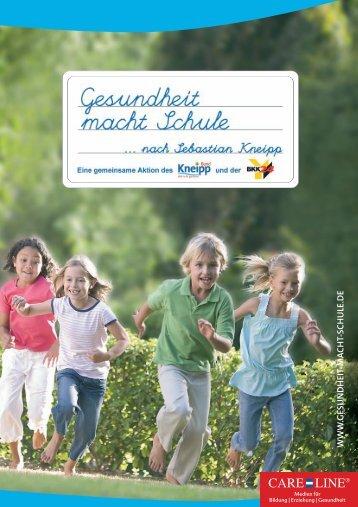 """""""Gesundheit macht Schule""""(PDF) - Kneipp-Bund e.V."""