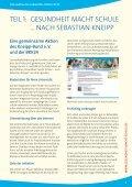 """""""Gesundheit macht Schule""""(PDF) - Kneipp-Bund e.V. - Seite 5"""