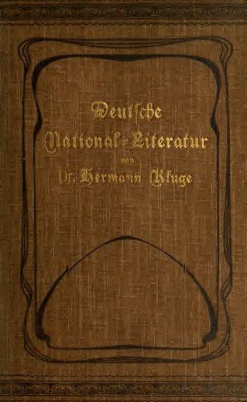 Geschichte der deutschen National-Literatur, zum Gebrauche an ...