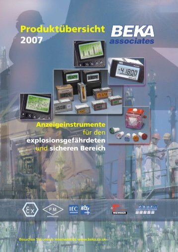 BEKA German language Product Summary - BEKA Associates