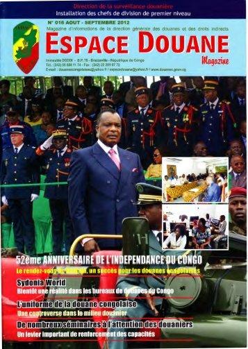 1 nstallation des chefs de division de premier niveau - Les Douanes ...