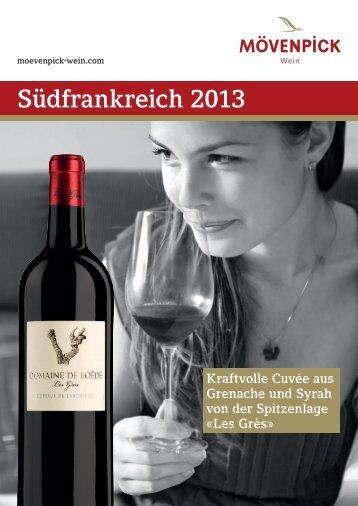 Südfrankreich 2013 - Mövenpick Wein