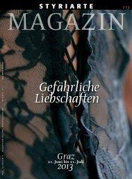 Magazin 1 / 2013 - Styriarte