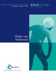 Richtlijn Parkinson omslag - Hersenwerk